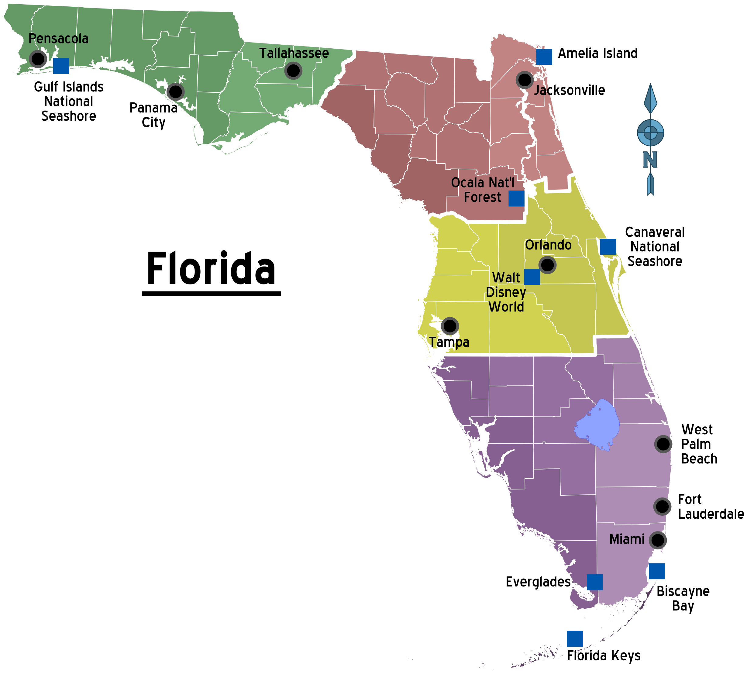 Map_of_Florida_Regions_with_Cities