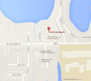 803 W Oakridge Map View